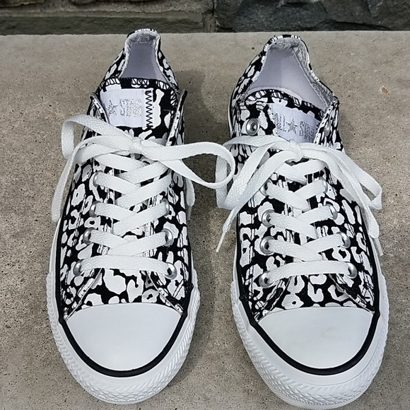 902e9a4a4c9d Converse Shoes - Converse Chuck Taylor spotted cheetah sneakers